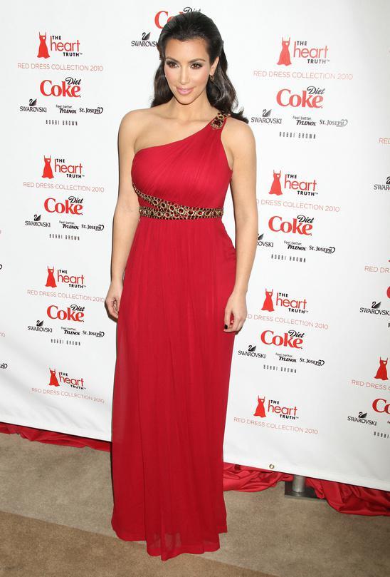 red-kim-kardashian-grecian-style-one-sho