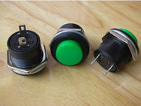 Cheap 10pcs,GREEN Momentary Push-Button ON OFF Switch