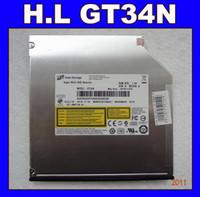 Wholesale Brand New H L GT34N SATA DVDRW Drive dual layer RAM Burner Drive MM