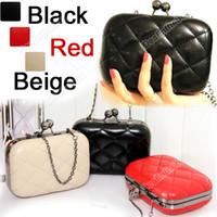 Wholesale 2012 Fashion Vintage Lady Chain CrossBody Pattern Shoulder Clutch Purse Handbag Evening Bag