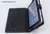 Wholesale Leather Case Keyboard for inch VIA Zenithink C71 tablet pc