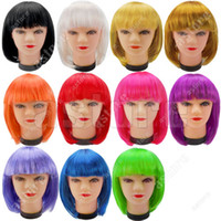 Wholesale New Fashionable style Short Party Wig Wigs colors in choice fx60