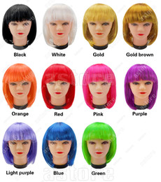 Wholesale 10 New Fashionable style Short Party Wig Wigs