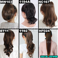 Wholesale Clip in Ponytail Hair Piece Wig Hair Extension