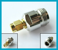 SMA to N adapter N female jack to SMA male plug straight ada...