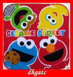 Wholesale popular baby Towels ELMO Sesame Street cartoon cotton towel baby gifts cm cm