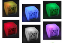 Wholesale Glowing Led Color Change Digital Alarm Clock