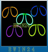 Free shipping Glowing Glasses Glow Stick Shining Glasses LED...