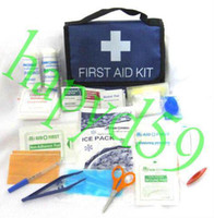 Wholesale free ship accessories outdoor first aid kit camping first aid kits home medical bag bike car medical kit