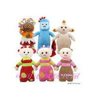 Wholesale Hot Sale In high Night Garden Children Toy Stuffed Figure per set about CM