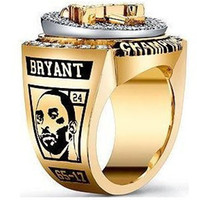 Wholesale New basketball StarConvoy kobe byrant LAKERS CHAMPIONSHIP RING rings with box