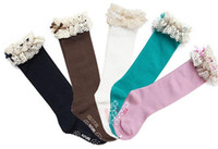 Wholesale girl lace baby socks Children s leggings kids sock colors baby sock girls socks legging