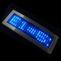 Wholesale Hot Sale Fashion Cool LED Belt Buckle Blue Scrolling Message Display