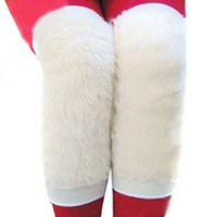 Wholesale imitation woollen knee warmer for both male femal knee pads knee warming