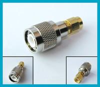 Free shipping 10pcs lot SMA - TNC adapter SMA Plug male to T...