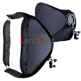 Wholesale Collapsible Soft Box Lighting System Shooting Suit cm quot power Lambency for Photo Studio Light