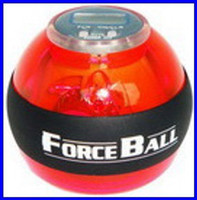 Wholesale Force Ball LED Wrist Strengthener Ball SPEED METER Fashion Fitness Sports red