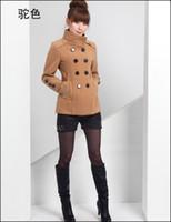 Cheap Women coat jacket Best Wool Blend Waist_Length nepal coat