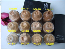 Wholesale NEW makeup HOT SPF studio fix liquid foundation ML