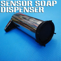 Wholesale Stainless Steel Automatic SENSOR Soap Dispenser Infrared Handfree Touchless Cream Sanitizer