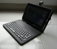 Wholesale case keyboard keyboard leather case for inch apad epad ebook mid Tablet PC