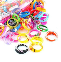 Colors acryl rings\lucite rings ring\Free shipping 200pcs lot
