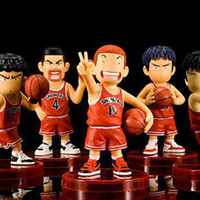 Wholesale Slam dunk master NBA basketball cartoon doll model boutique toys decoration set