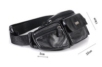 Wholesale Outdoor casual waist bags top end Genuine leather men casual first choice handy fashion doing well on offsale to gurantee