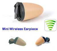 Wholesale 3G Spy Earphone Wireless Hidden Cell Phone Earpiece Earbug FOR COVERT COMMUNICATION SP57