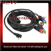 Wholesale HOT SALE COMPONENT AV TV HDTV CABLE FOR SONY PSP SLIM
