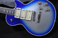 Wholesale In the new custom shop guitar Mahogany blue