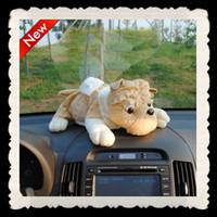 Wholesale 10pcs Cartoon car tissue boxes for cm Plush PP cotton Dogs Tissue Box