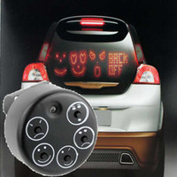 Best LED Car Sign Animated Facial Expression 5 Message