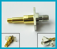 SMA female to 3. 5MM male connector adapter for testing mobil...