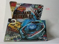 Wholesale New Arrived Super D Top Clash Metal Beyblade Spinning Tops Toys Games