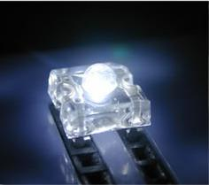 free shipping 100 3mm Superflux Piranha White LED 20000mcd long life pb free good quality