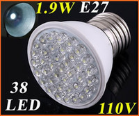 Wholesale White LED light bulb ultra bright led lamp energy saving lighting leds W led light V V E27 led bulb