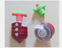 Wholesale hot sell Strange new toy vinyl Gyro light gyroscope infrared gyro singing