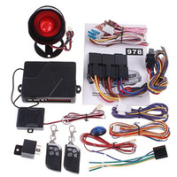 Wholesale Auto Car alarm system Way Car Alarm Protection System with Remote Control Engine Start car secur
