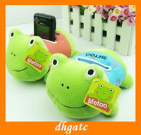 aquatic frogs - hot sales Frog mobile phone holder plush toys fashion kids plush toys
