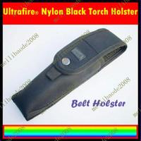 Wholesale 20pcs C85 Ultrafire Nylon Black Torch Pouch Belt Holster For Flashlight