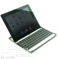 Wholesale Aluminum alloys Bluetooth Wireless Keyboard for ipad Ipad2 Adjustable Stand Holder