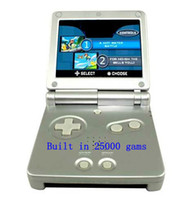 Wholesale Promotion FREE DHL For GBA SP Advance Video Game Consoles sp game system games