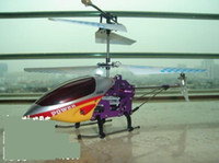 Wholesale New CH RC helicopter alloy body with infrared radio remote control helicopters indoor toy