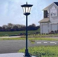 Солнечный свет сада + 1.2W питание панели солнечных батарей + 30 белый светодиод + 1.2м высота уличный фонарь для сада