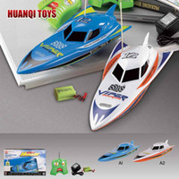 Wholesale HOT New cm ch rc remote radio control boat racing boat RC speed boat with twin motors Children Kid gift toy HQ