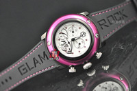 batteries miami - Luxury Unisex Glam Rock Miami White Mother Pearl Swiss Ladies Wrist Watch Women s Watches