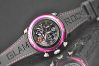 Women's batteries miami - Luxury Unisex Glam Rock Miami Black Mother Pearl Swiss Ladies Wrist Watch Women s Watches