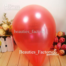 200 Pcs Red Round Shape Latex Balloons Party Decoration 10 inch Balloon Choose Color Festive Supplies