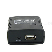 Laptop   USB 2.0 Ethernet Networking LPR Print Server Share Hub Deceive Mini D2047A